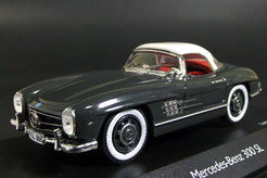 Mercedes-Benz 300 SL roadster (зеленый)