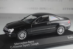 Mercedes-Benz CLK (C209), 2002-2009г. (черный)