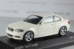 BMW 1 Series Coupe (E82), 2007г. (белый)