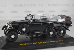 Mercedes-Benz Type G4 (W31), Six-Wheeler, 1938 г. (черный).