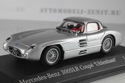 Mercedes-Benz 300 SLR 'Uhlenhaut' Coupe, 1955г. (серебряный)