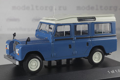 Land Rover Series II, 109 Station Wagon 4х4 1958г. (синий+белый)