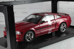 Ford Mustang GT Coupe California Special, 2007г. (бордовый металлик)