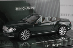 Bentley Continental GTC, 2011г. (т. зеленый)