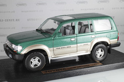 Toyota Land Cruiser, 1992 г. (зеленый)