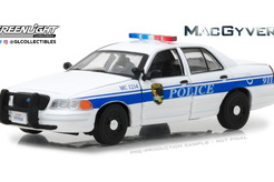 "Ford Crown Victoria, Police Interceptor ""California Police"" из сериала ""Макгайвер"" (белый)"