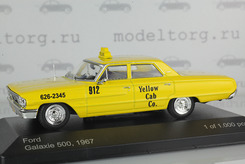 "Ford Galaxie 500, ""New York Taxi"" 1967 г. (жёлтый)"