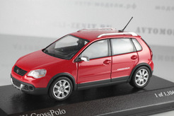 Volkswagen Cross Polo, 2006г. (красный)