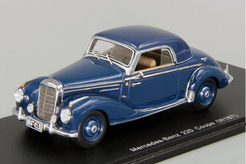 Mercedes-Benz 220 (W187) Coupe 1951 г. (синий).