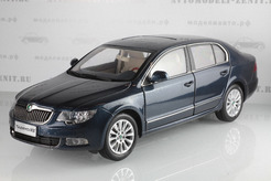 Skoda Superb (blue)