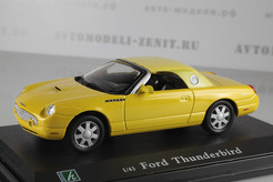 Ford Thunderbird (желтый)