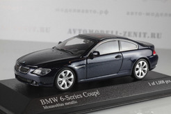 BMW 6-Series Coupe, 2006г. (т. синий металлик)