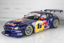 "BMW Z4 Coupe (E86) ""Red Bull"" Silverstone №1, 2007г. (синий)"