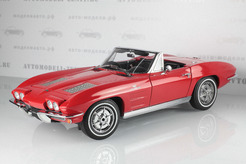 Chevrolet Corvette Convertible,1963г. (красный)