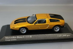 Mercedes-Benz C 111/II (оранжевый)