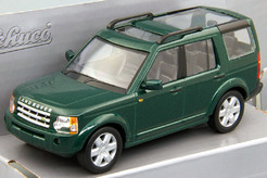 Land Rover Discovery 3, 2005 г. (зеленый металлик)
