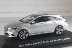 Mercedes-Benz CLA-Class Shooting Brake (X117), 2015г. (серебряный)